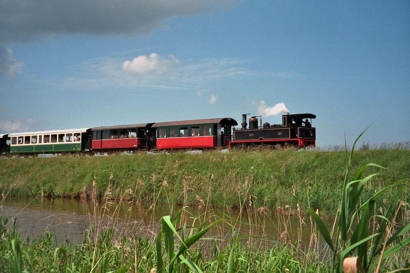 Parcourir la Baie de Somme en train à vapeur