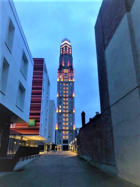 La tour Perret à Amiens